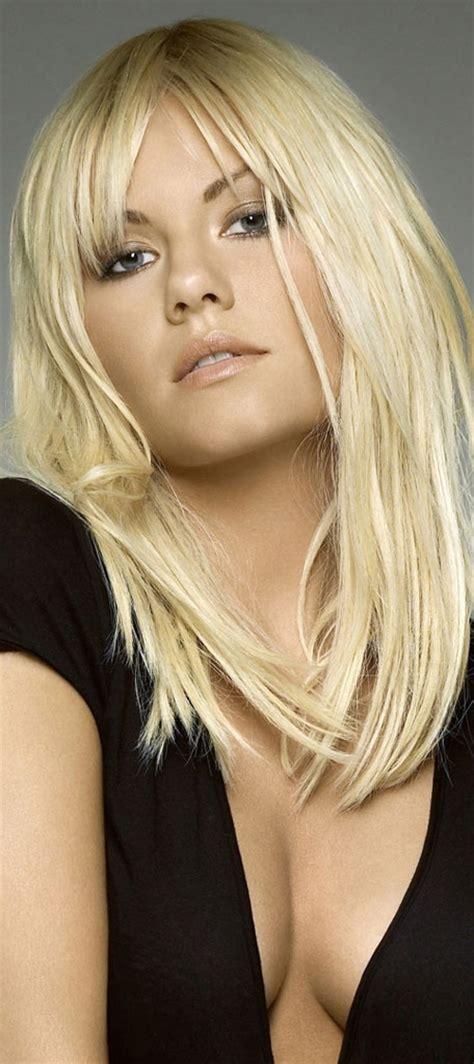 elisha cuthbert natural haircut and hair color 2016 elisha cuthbert hair color hair colar and cut style