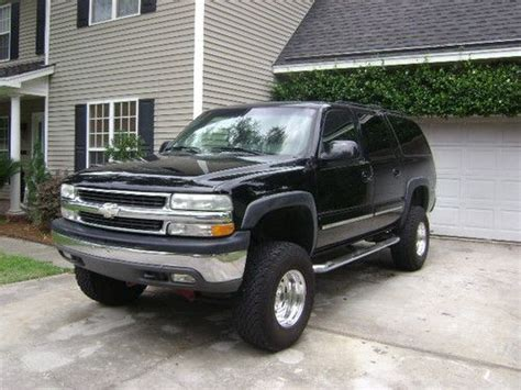 how to sell used cars 2001 chevrolet suburban 2500 electronic valve timing sell used 2001 suburban lt 4x4 loaded lifted in savannah georgia united states