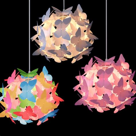 Butterfly Lights For Bedroom Butterfly Ceiling Pendant Light L Shade Chandeliers Shades Lshades In Home