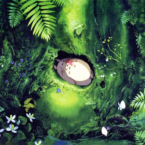 green japanese wallpaper i love papers ap14 japan totoro art green anime illustration