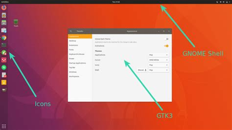 Change Themes In Gnome | how to install themes in ubuntu 18 04 and 17 10