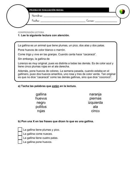 lengua 3 primaria evaluaci 243 n inicial lengua 3 186 imagen orientaci 243 n and 250 jar recursos educativos