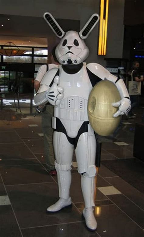 If the Easter Bunny Were a Stormtrooper