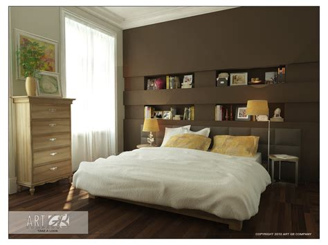 bedroom wall color schemes decosee