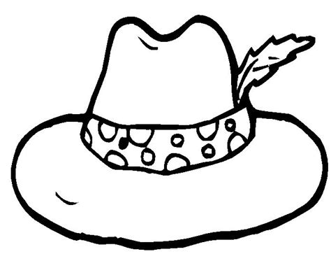 printable hat coloring page hat coloring pages 7