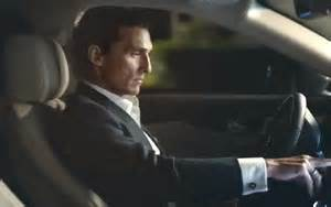 new lincoln car commercial mcconaughey in new ads for lincoln 09 11 2015