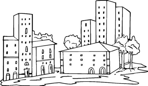 apartment building coloring page how to draw apartment coloring pages how to draw