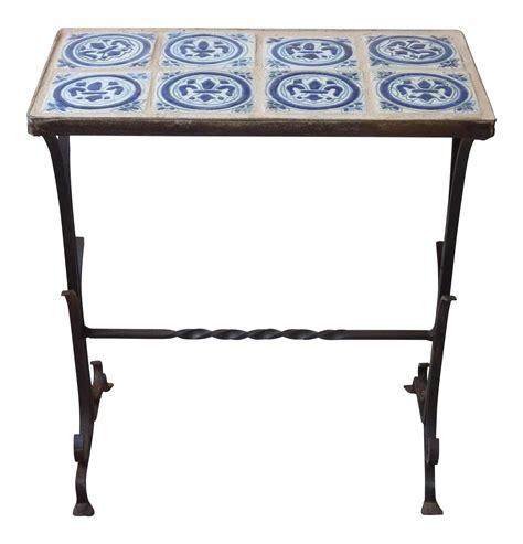 Fleur De Lis Table L by Fleur De Lis Tile Table Chairish