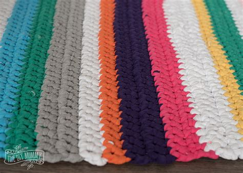 t shirt rug crochet pattern t shirt yarn rug meze