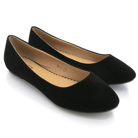 fashion ballerina black shoes to wear for the