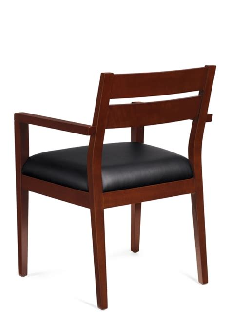 office furniture today offices to go otg 11820b cx wood guest chair cordovan