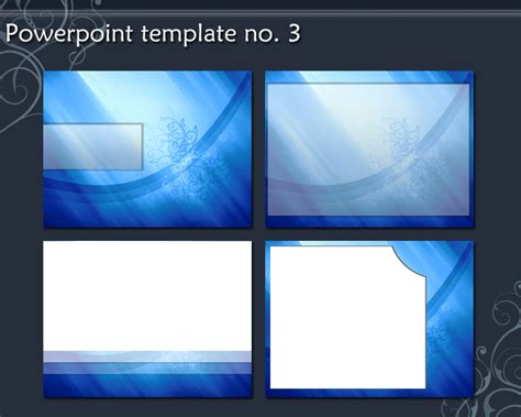 Powerpoint Template No 3 By Amy03014 On Deviantart Template Powerpoint 2010