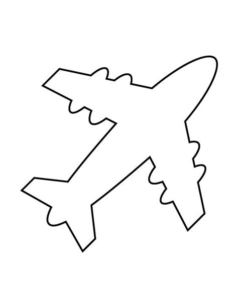 airplane cut out template airplane stencil 69 quilting stencils and