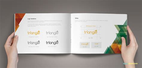 Bundle Of 10 Brand Book Templates From Zippypixels Mightydeals Brand Book Template Free