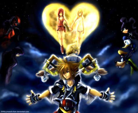kingdom hearts 2 kingdom hearts favourites by aquosgirl on deviantart