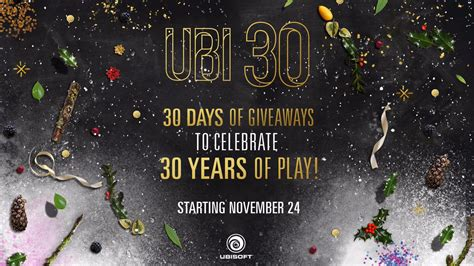 Ubisoft Pc Giveaway - ubisoft 30 days of giveaways starts today capsule computers