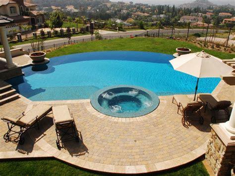 infinity pool backyard on the edge stunning infinity pools hgtv