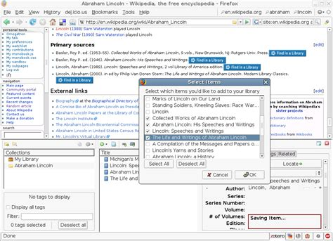 zotero guide tutorial references exle search results calendar 2015
