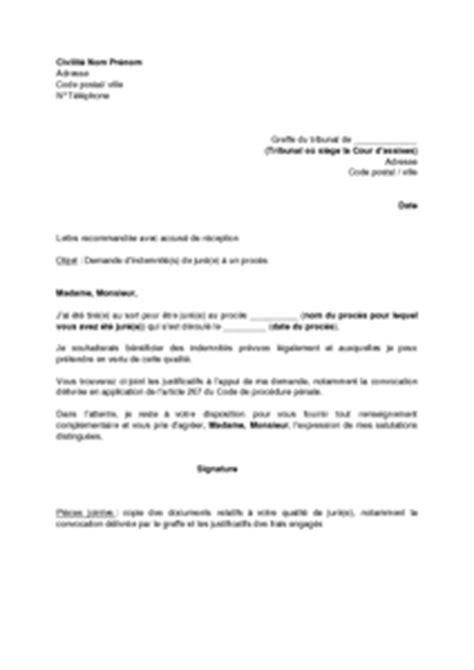 Demande De Cong Bonifi Lettre Type convocation jure d assises 28 images 202 tre jur 233