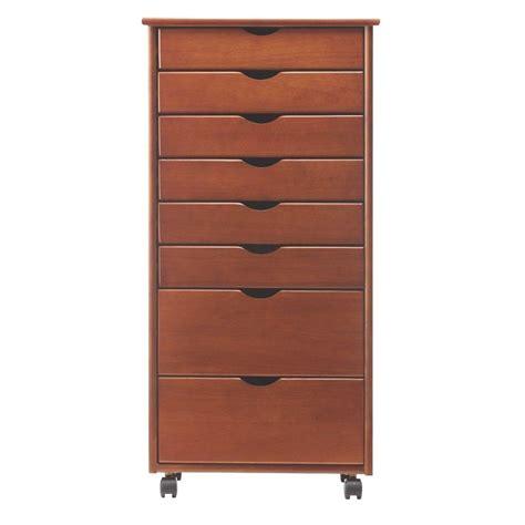 stanton 6 drawer storage cart home decorators collection stanton wide 8 drawer storage