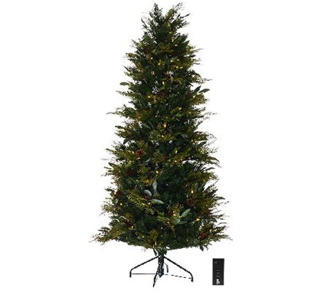 ellen degeneres christmas trees ed on air santa s best 9 bay leaf tree by degeneres qvc