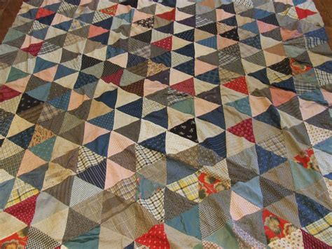 Antique Quilts Thousand Pyramids Quilt Top Tim Latimer Quilts Etc