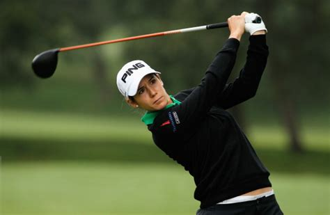 azahara munoz golf swing lacoste ladies open de france golf monthly