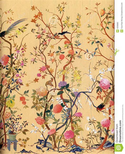 web co dei fiori carta da parati di arte degli uccelli e dei fiori