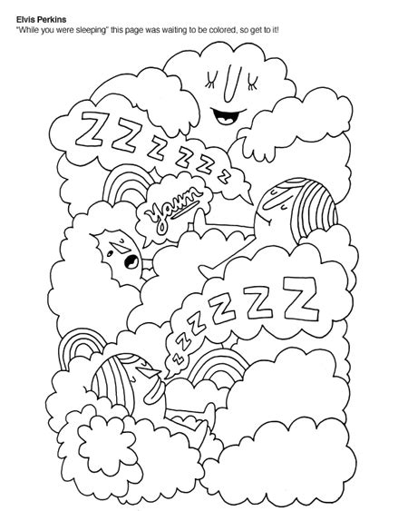 daily dose pick the indie rock coloring book flavorwire