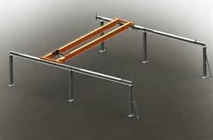 pont roulant monopoutre bipoutre monorail