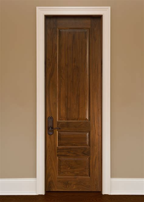 Custom Solid Wood Interior Doors Custom Solid Wood Interior Doors Traditional Design