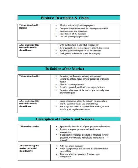 7 Sle Professional Business Plan Templates Sle Templates Business Plan For Template