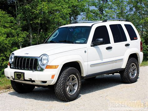 jeep liberty white jeep liberty lifted image 278