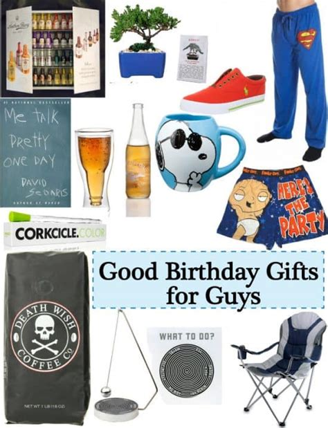 good gift ideas for guys birthday vivid s