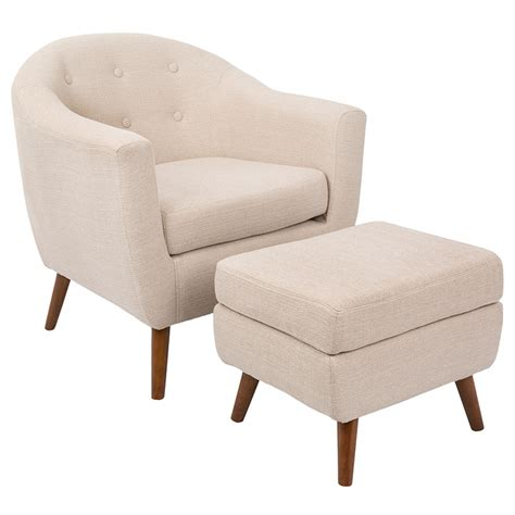 ottoman define living radbury beige modern chair ottoman eurway