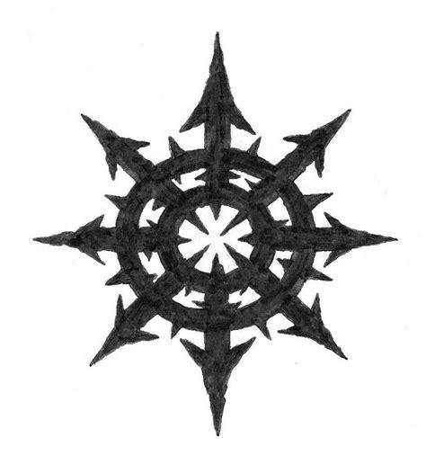 chaos star tattoo designs chaos by delta1313 on deviantart