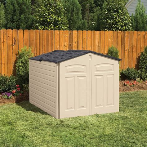 rubbermaid  cubic feet  profile  lid outdoor