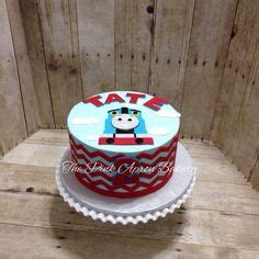 Ill Pass On The Railroad Stripes by Cakes On Birthday Cakes