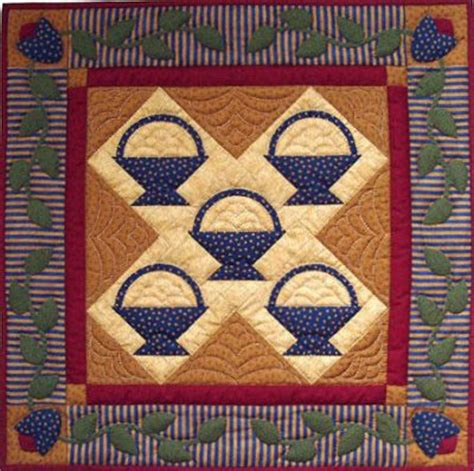 Amish Quilts History by Amish Quilt Basket Pattern Quilts Patterns