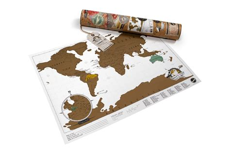 Scratch Map Travel Edition Scratch Map Carte Du Monde