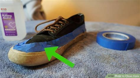cleaning vans shoes easy ways to clean vans wikihow
