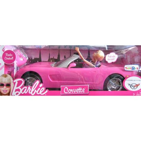 barbie corvette remote control barbie radio control corvette convertible barbie doll set