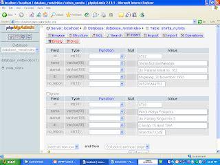 cara membuat database dengan mysql pada xp cara membuat membuat database dengan xampp adituek net