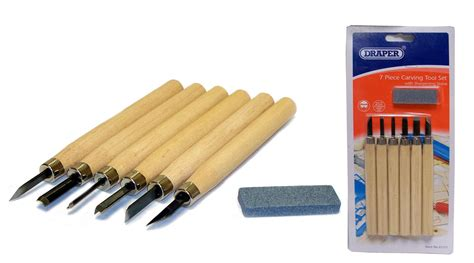 wood carving sharpening stones draper 7 wood carving tool set with sharpening
