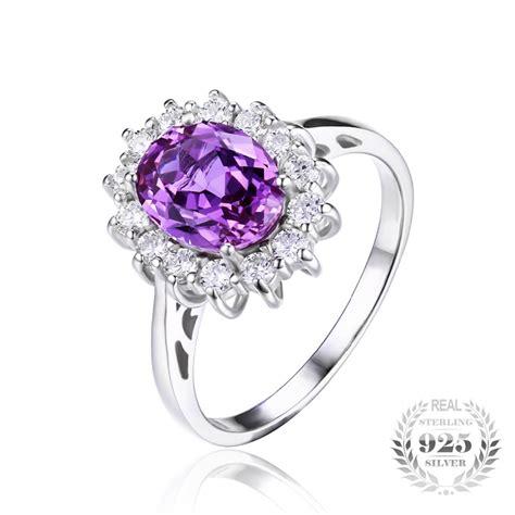 sterling silver june birthstone alexandrite ring blazemall