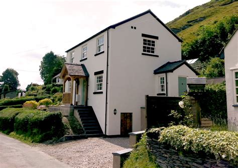 holiday cottage llangollen ac architecture
