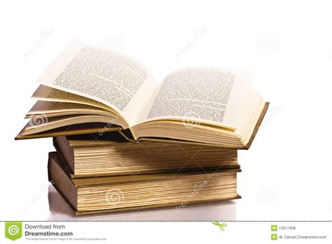 reflection books open book with reflection royalty free stock photos