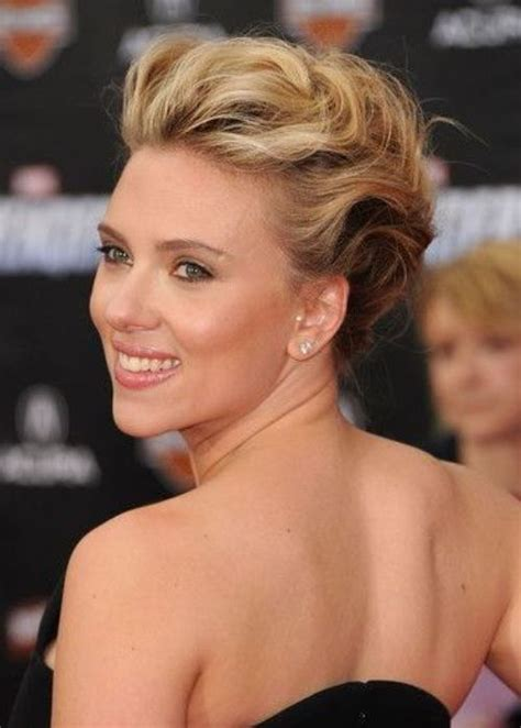 50 Best Updos for Short Hair   herinterest.com   Part 4
