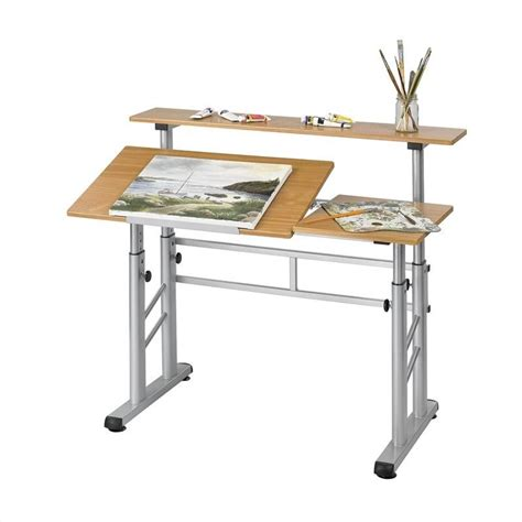 adjustable height drafting table height adjustable split level drafting table 3965mo
