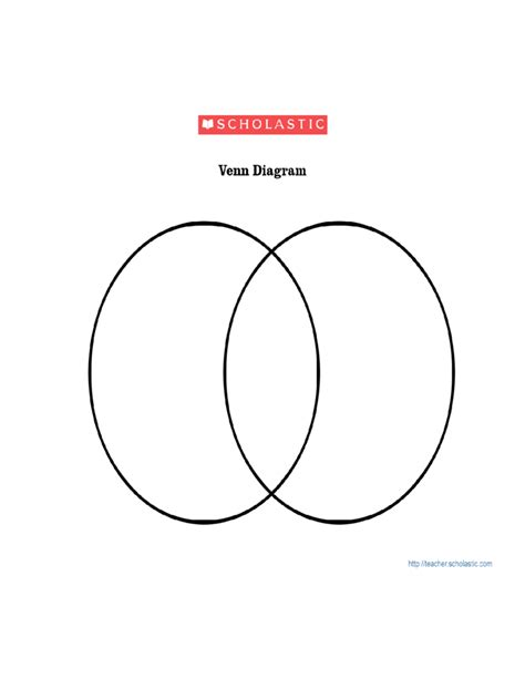 blank diagram template blank venn diagram template free